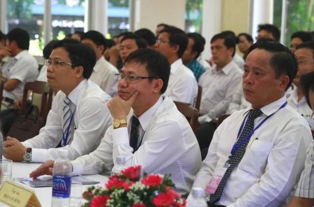 3 ứng viên thi tuyển chức danh Giám đốc Sở Xây dựng Đà Nẵng năm 2015. Ảnh: VGP