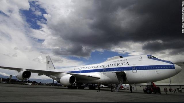 Máy bay ngày tận thế E-4B của Không quân Mỹ. Ảnh: CNN
