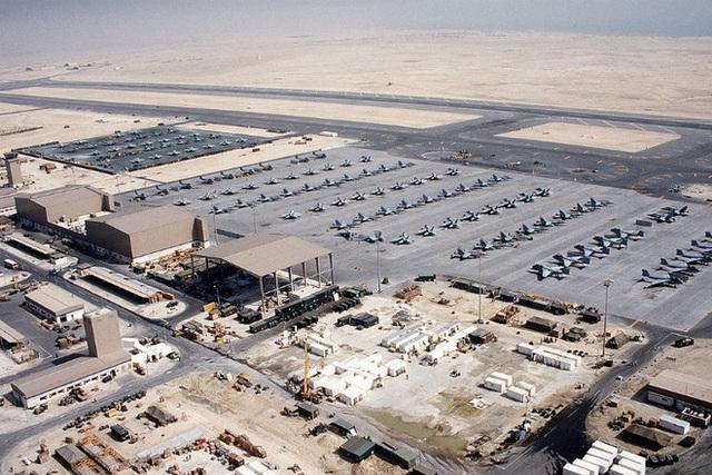 Căn cứ quân sự Al Udeid tại Qatar.