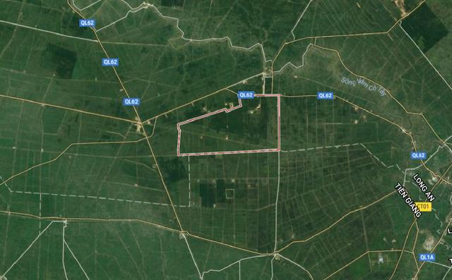 Huyện Thạnh Hóa tỉnh Long An