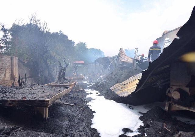 Khu vực nơi xảy ra vụ cháy