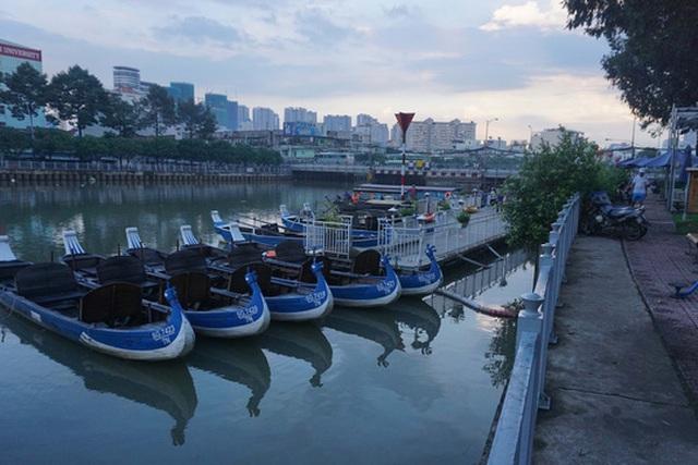 Tuyến du lịch kênh Nhiêu Lộc - Thị Nghè chưa hấp dẫn du khách dù đã hoạt động gần 2 năm Ảnh: Hoàng Triều