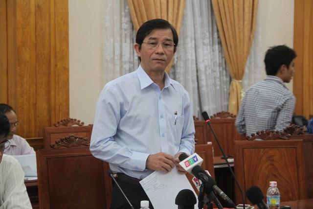 Ông Trần Châu, Phó chủ tịch UBND tỉnh Bình Định yêu cầu khởi kiện công ty TNHH Đại Nguyên Dương