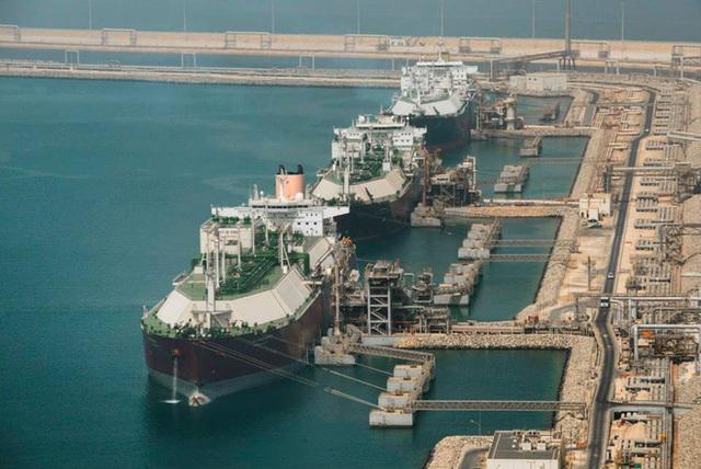 Qatar đứng đầu thế giới về xuất khẩu khí đốt tự nhiên hóa lỏng. Ảnh: LNG World News