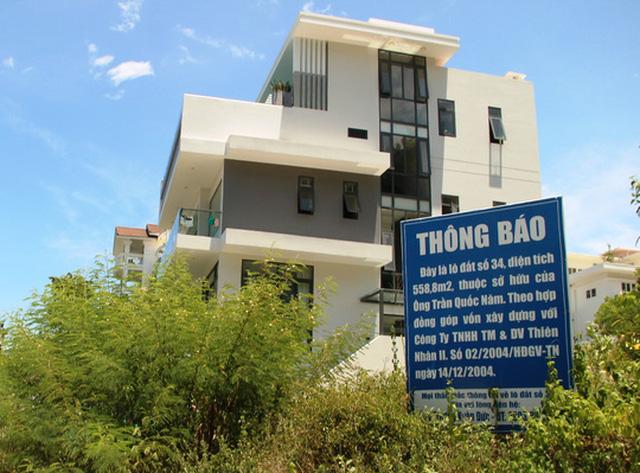 Nhiều chủ đất tại khu biệt thự cao cấp Ocean View Nha Trang treo biển cảnh báo người mua đất
