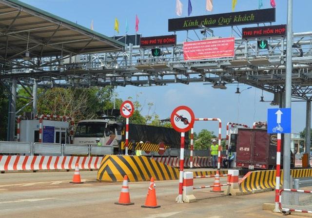 Trạm thu phí BOT Toàn Mỹ - Băng Dương trên đường Hồ Chí Minh (đoạn qua huyện Đắk Mil, tỉnh Đắk Nông) Ảnh: CAO NGUYÊN
