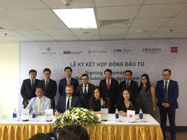 PAN Farm đã nhận được thêm vốn từ IFC, quỹ liên doanh Daiwa SSI và CTCP Chứng khoán SSI