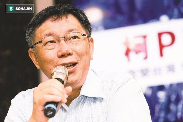 Ông Kha Văn Triết, thị trưởng Đài Bắc, Đài Loan, Trung Quốc.
