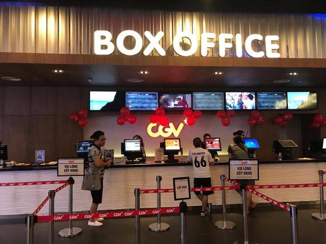 Lượng khách đến CGV Times City khá thưa thớt trong những ngày đầu khai trương. Ảnh: Thái Hà