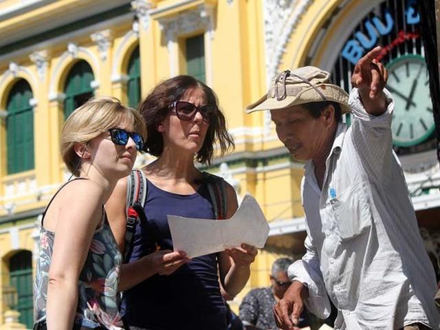 Khách quốc tế đến Việt Nam du lịch ngày càng nhiều- Ảnh minh họa- Tú Uyên