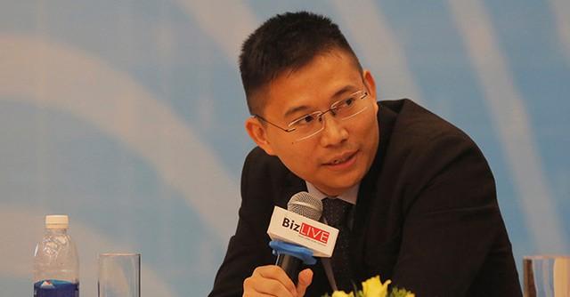 Ông Trần Văn Mẫn, Giám đốc đầu tư - quản lý quỹ mở VEOF thuộc VinaCapital. Ảnh: Chu Hoàn.