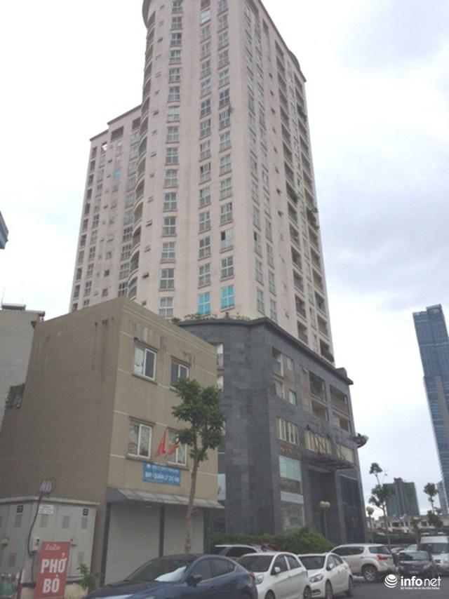 Chung cư Cảnh sát 113 do Công ty TNHH Thăng Long làm chủ đầu tư nằm trên địa bàn phường Yên Hòa (Cầu Giấy, Hà Nội).