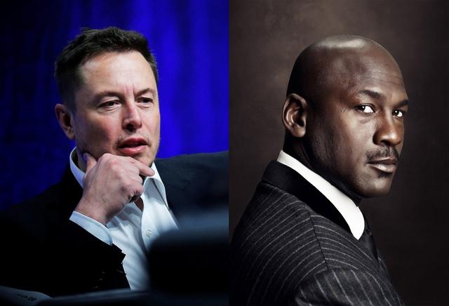 Elon Musk và  Michael Jordan có chung một điểm là luôn hăng say làm việc.