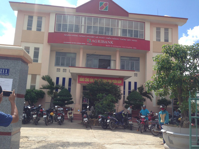 Chi nhánh Agribank Krông Bông