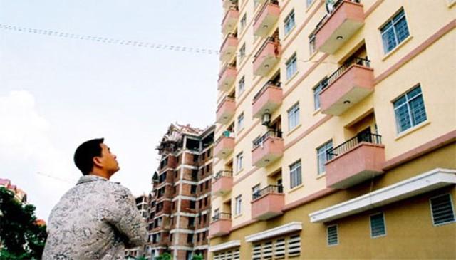 Nhiều người mơ ước có nhà để an cư lạc nghiệp