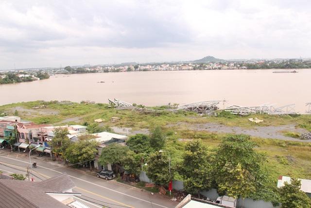 Dự án lấn sông Đồng Nai bị tạm ngưng từ năm 2015.