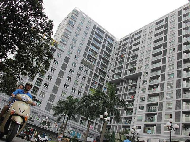 TP.HCM đang triển khai làm nhà ở xã hội 300 triệu. Một dự án nhà ở xã hội tại quận Tân Bình, TP.HCM. Ảnh: HOÀNG GIANG