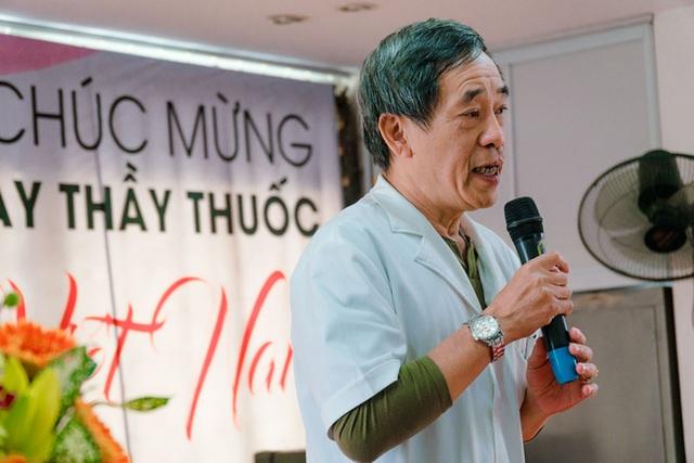 TS BS Hoàng Đình Chân - Giám đốc Bệnh viện Ung bướu Hưng Việt