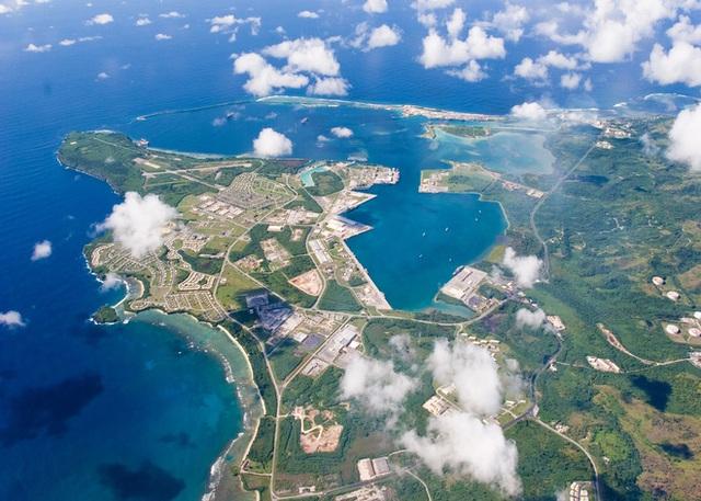Căn cứ quân sự Mỹ ở đảo Guam. Ảnh: Reuters