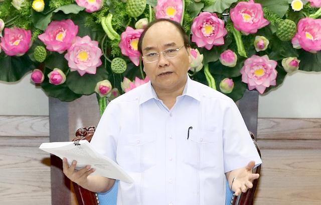 Nhất trí với các ý kiến, giải pháp được nêu ra tại cuộc họp, Thủ tướng nhấn mạnh phải tổ chức thực hiện tốt, thường xuyên đôn đốc, kiểm tra. - Ảnh: Thống Nhất