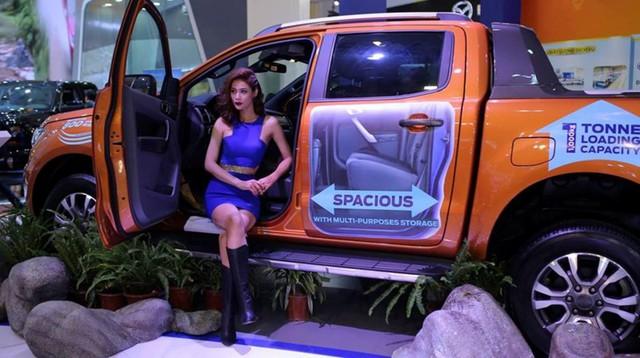 Dù nằm trong top xe bán chạy nhưng doanh số bán hàng Ford Ranger đã giảm.