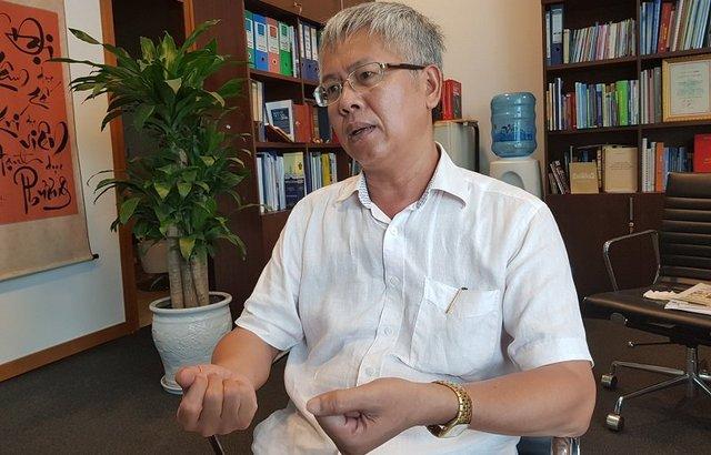 Phó chủ nhiệm UB Kinh tế của QH Nguyễn Đức Kiên. Ảnh T.Hằng