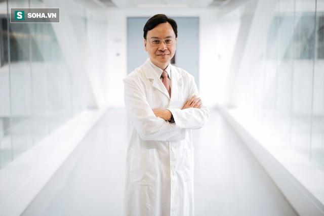 Giáo sư Dennis Lo, trưởng nhóm nghiên cứu.