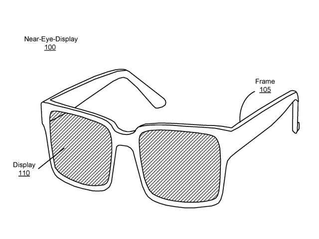 Hình ảnh phác thảo của kính VR của Facebook.