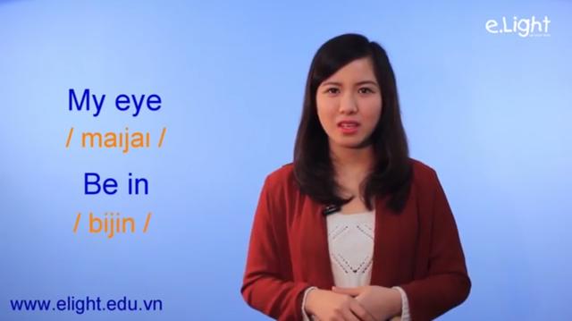 Một đoạn dạy phát âm Tiếng Anh gây tranh cãi của Elight