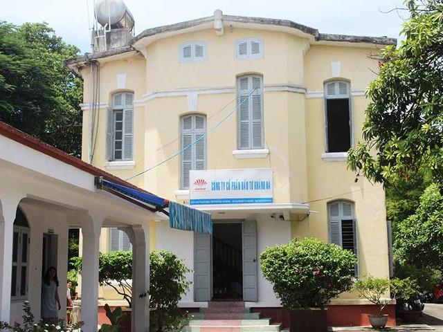 Một ngôi biệt thự cổ thành văn phòng làm việc của Công ty Khánh Hà. Ảnh: TẤN LỘC