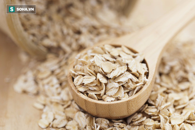 Bột yến mạch có rất nhiều omega-3, acid folate, và kali