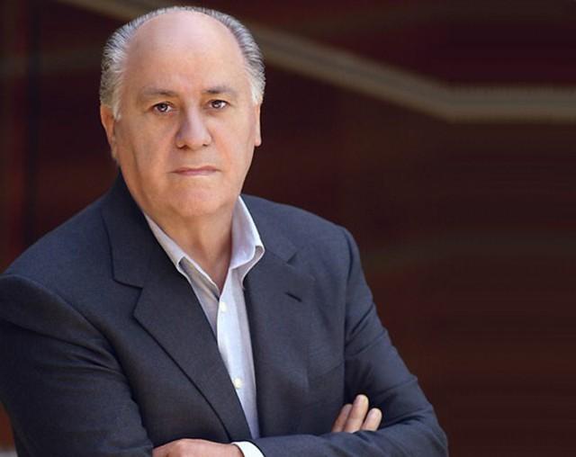 Amancio Ortega, ông chủ của tập đoàn Inditex, công ty mẹ của hãng thời trang nổi tiếng Zara. Ảnh: Forbes