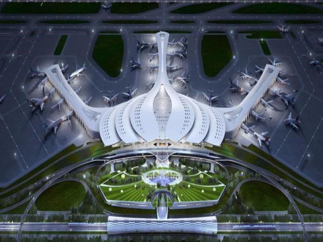 Mô hình sân bay Long Thành được lựa chọn để đầu tư xây dựng.