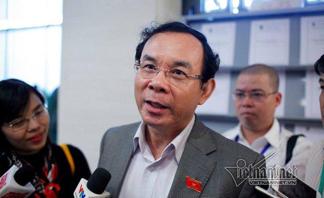 Chánh văn phòng TƯ Đảng Nguyễn Văn Nên. Ảnh: Phạm Hải