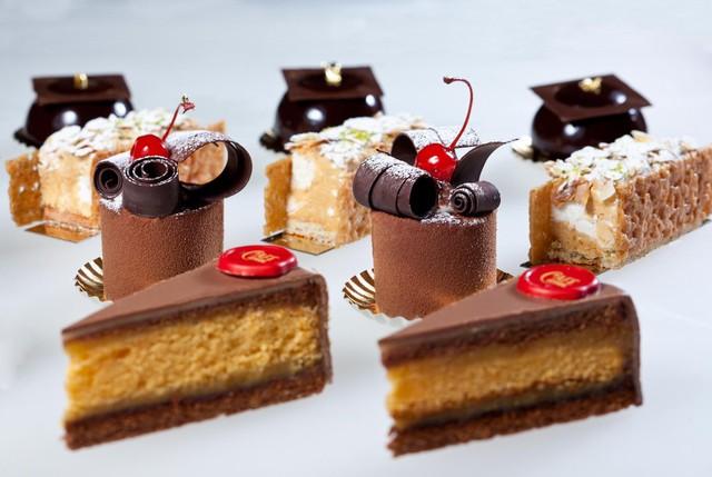 Món bánh ngọt từ cửa hàng bánh nổi tiếng nhất thành Vienna.