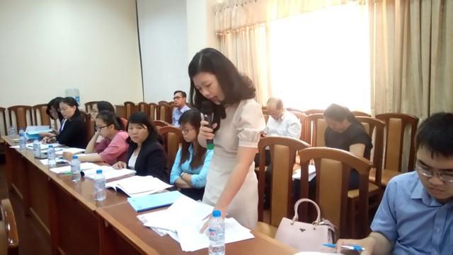 DN góp ý kiến cho Dự thảo Nghị định quy định về hóa đơn bán hàng, cung ứng dịch vụ tại hội thảo.