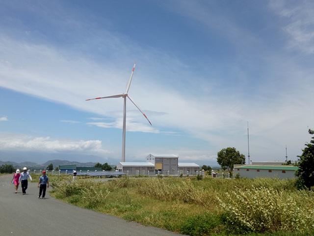 Một dự án điện gió đã hoạt động tại tỉnh Bình Thuận