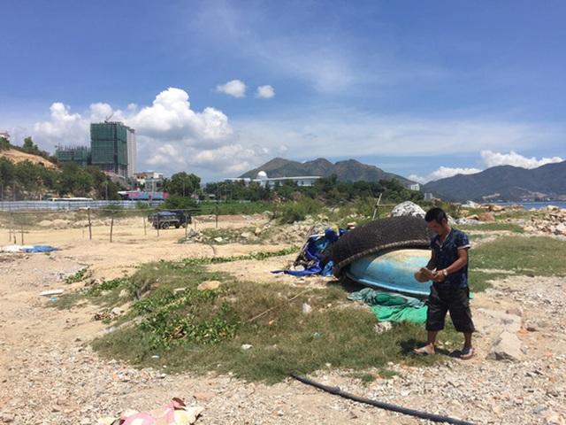 Dự án lấn biển Nha Trang Sao gần 2 năm chậm tiến độ.