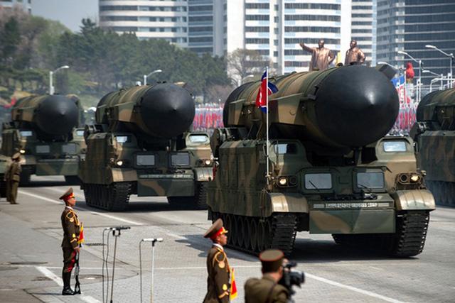 Triều Tiên mới đấy đe dọa tấn công bom hạt nhân Nhật Bản và Mỹ. Ảnh: Reuters