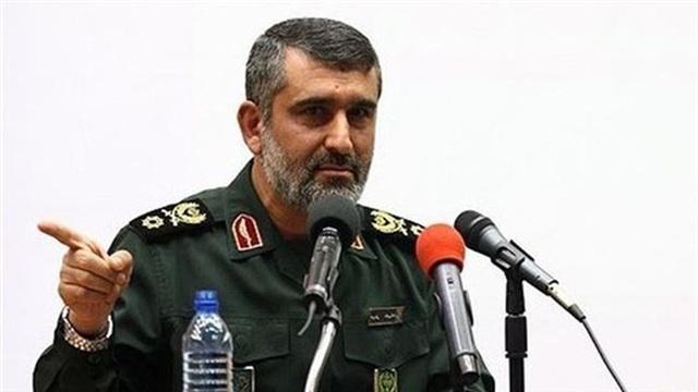 Tướng Amir Ali Hajizadeh. Ảnh: PRESS TV