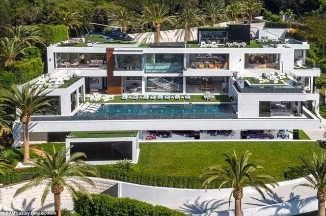 Chúng ta hẳn sẽ tưởng tượng nhà của tỷ phú trông như thế này!...