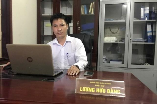 Luật sư Lương Hữu Bàng- Giám đốc điều hành Công ty Luật Diệu Pháp (DPLAW).