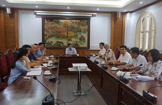 Bộ trưởng Nguyễn Ngọc Thiện yêu cầu Vivaso thực hiện đúng cam kết đầu tư vào VFS (ảnh Hồng Hà)