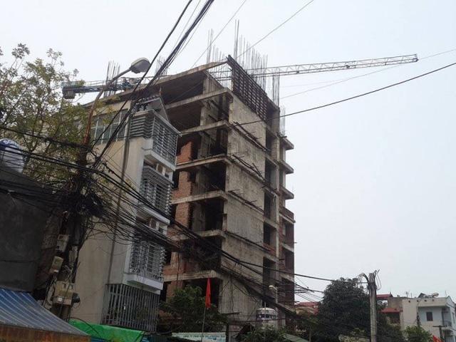 Dự án 83 Ngọc Hồi ngưng thi công vì xây dựng trái phép
