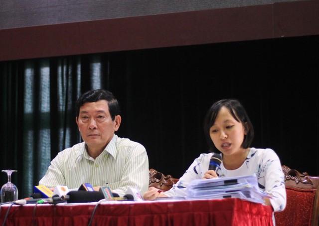 Thứ trưởng Huỳnh Vĩnh Ái đã trả lời nhiều thắc mắc của báo chí.