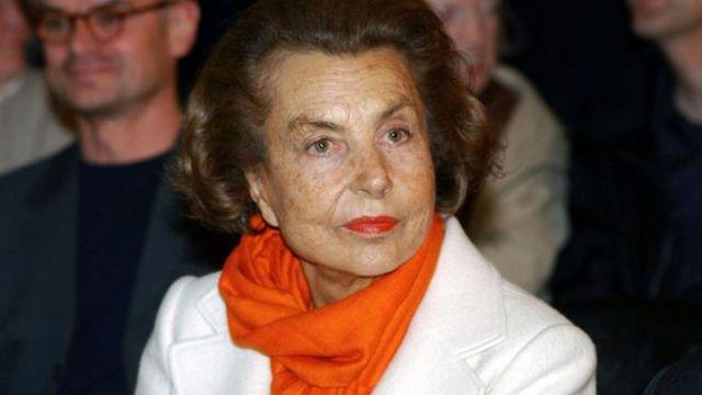 Bà Liliane Bettencourt