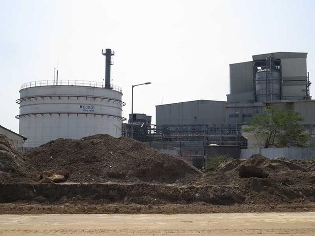 Dự án Nhà máy nhiên liệu sinh học Dung Quất (Quảng Ngãi). Ảnh: TRÀ PHƯƠNG