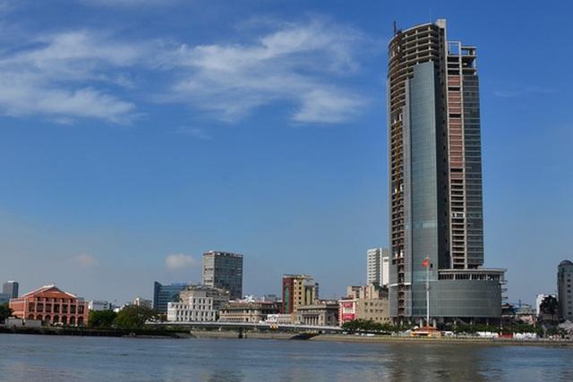Dự án cao ốc Sài Gòn M&C vừa bị Công ty Quản lý tài sản của các tổ chức tín dụng (VAMC) thu giữ để xử lý nợ xấu Ảnh: Tấn Thạnh