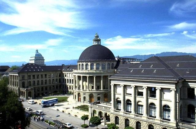 Đại học Kỹ thuật Quốc gia Thụy Sĩ hay ETH Zurich.