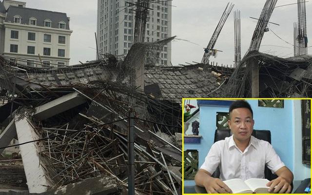 Luật sư Nguyễn Anh Thơm phân tích về vụ việc sập trường mầm non đang thi công ở Mỹ Đình.